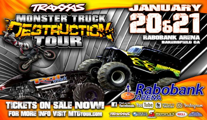 The Traxxas Monster Truck Destruction Tour Show