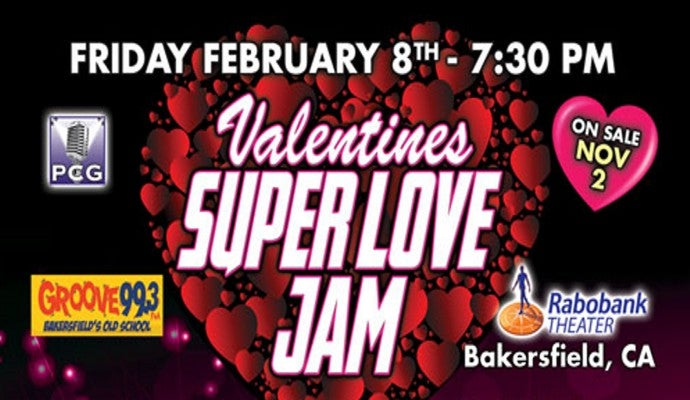 Valentines Super Love Jam | Rabobank Arena